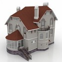 House Draft 29A 3D Model