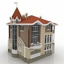Cottage Samara 3D Model