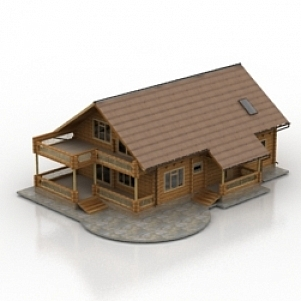 House 3d Model Free Download Id6230 3ds Gsm Open3dmodel