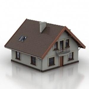 House Cyprus 3D Model