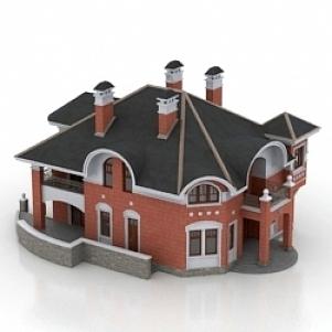 House England 3D Model