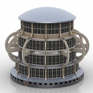 Building R 3D Model