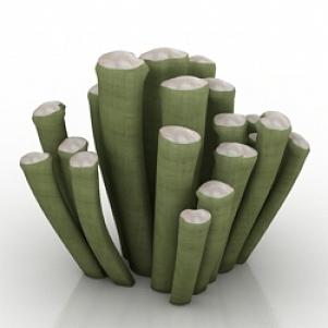Plant Frithia Pulchra 3D Model