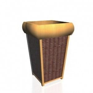Flower-pot 3D Model