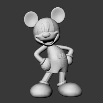 Mickey Mouse Free 3d Model ID6811 - Free Download