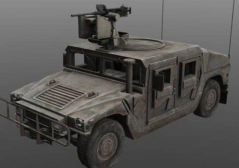 Humvee Military Car
