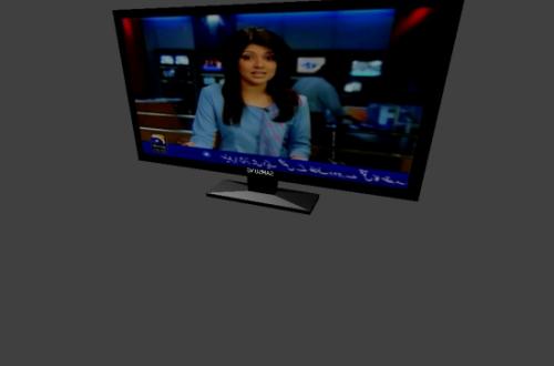 Elektroninen televisio LCD
