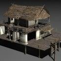 Swamp House Free 3d Model