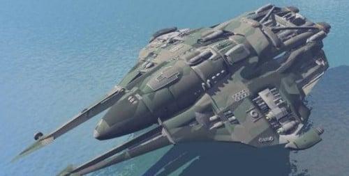 Sota-tieteellinen Star Cruiser