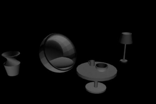 Modern Interior Furniture Set