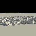 Small Desert City Free 3d Model