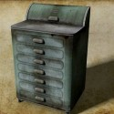 Metal Medical Cabinet Free 3d Model