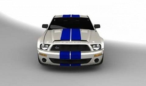 Mustang Gt500 Car
