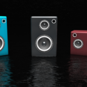 Colorful Electric Speakers
