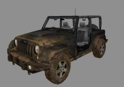 Old Jeep Car
