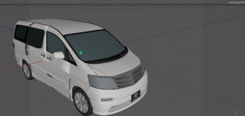 Toyota Alphard Car Free 3D Model (3ds) - Open3dModel