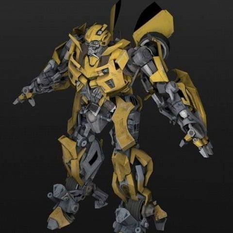 Bumble Bee Robot