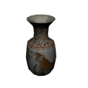 Old Vase With Textures