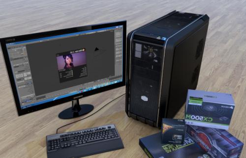 كمبيوتر القضية برودة ماجستير 690