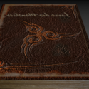 Book Of Monsters Free 3d Model