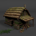 Medieval Hut House
