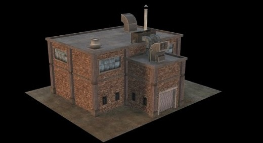 بناء الطوب الصناعي