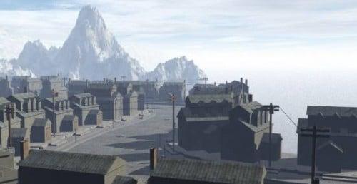 Escena exterior del casco antiguo
