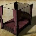Day Bed Furniture 3d Model