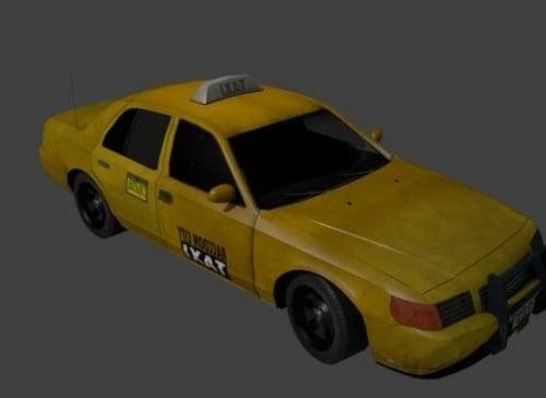 Newyork keltainen taksi