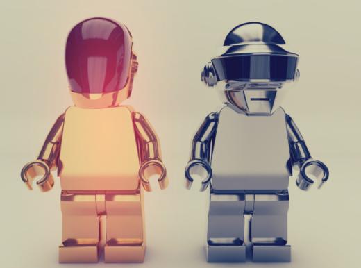 Daft Punk Lego Character