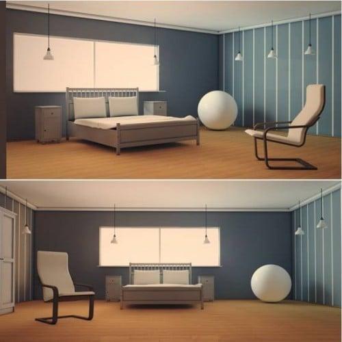Bedroom Interior Scene 3d Model C4d Open3dmodel 8250