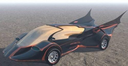 Car Batmobile -konsepti