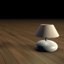 Bed Lamp Round Style