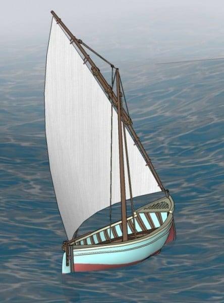 قارب الميرة