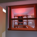 Bar Counter Interior Scene 3d Model
