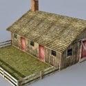 Farmhouse Free 3d Model
