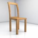 Wooden Chair Free 3d Model