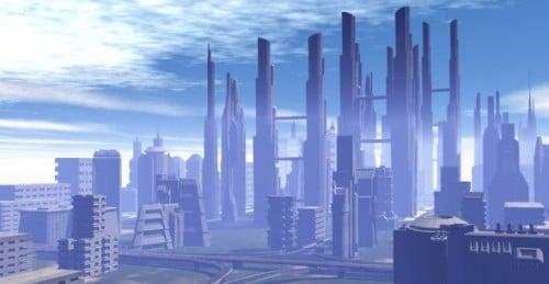 Fantasy City -näkymä