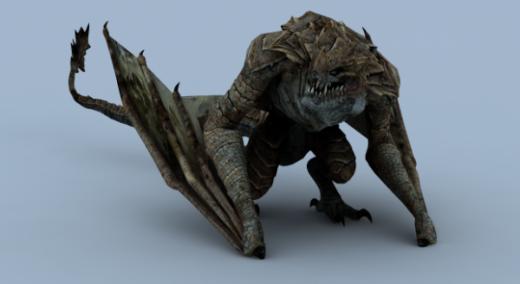 Western Dragon Animations