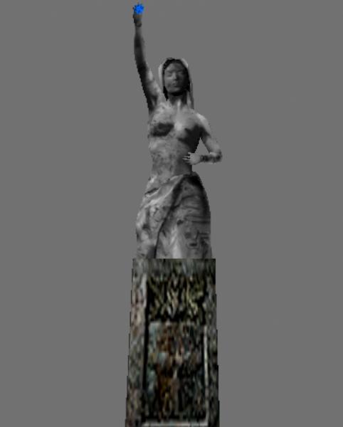Re Rebirth Dining Room Statue