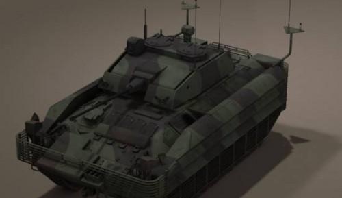 Uk Fv510 Warrior Tank