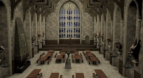Great Hall Free 3d Model
