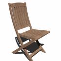 Wooden Outdoor Chair 3d Model