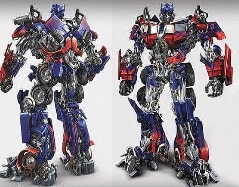 Robot Optimus Prime