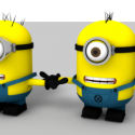 Minions fuldt ud Rigged Character
