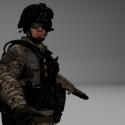 Vojenská postava Bf3