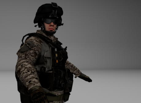 Bf3 Soldier Character
