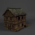 Medieval House Building 3d Model
