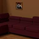 Leather Sofa Free Furniture 3d Model