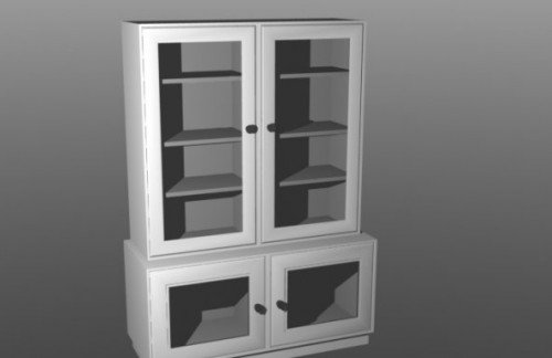 Glass Drawer Office Furniture
